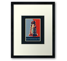 Exterminate Framed Print