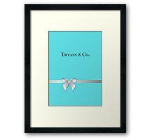 Tiffany & Co. Framed Print