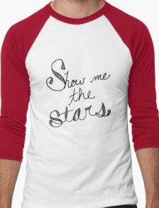 Show Me the Stars Men's Baseball ¾ T-Shirt