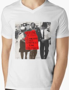 Corbyn Mens V-Neck T-Shirt