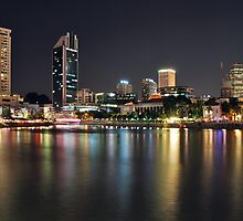 On the banks of the Singapore River by Adri  Padmos