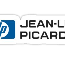 Jean-Luc Picard Sticker