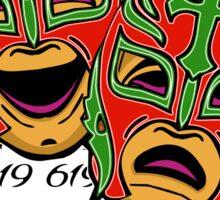 REY MYSTERIO 619 COMEDY TRAGEDY Sticker