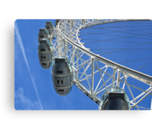Going high with the London Eye in England Canvas Print