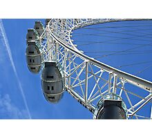 Going high with the London Eye in England Photographic Print