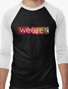 Floral Weezer Men's Baseball ¾ T-Shirt