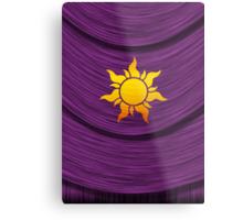 Tangled Kingdom Sun Emblem 2 Metal Print