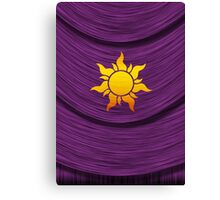 Tangled Kingdom Sun Emblem 2 Canvas Print