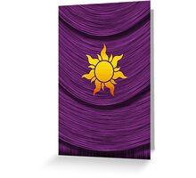 Tangled Kingdom Sun Emblem 2 Greeting Card