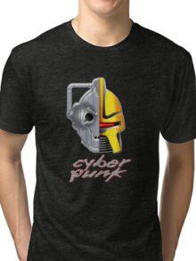 Cyber Punk Tri-blend T-Shirt