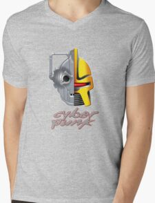 Cyber Punk Mens V-Neck T-Shirt