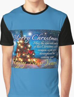 christmas scene 1 Graphic T-Shirt