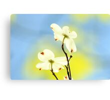 How Wonderful To See The New Colors Of SPRINGTIME!!!! Canvas Print