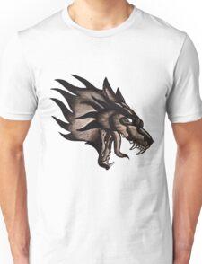 Wolf Painting Tattoo Flash Unisex T-Shirt