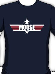 Custom Top Gun Style - Moose T-Shirt