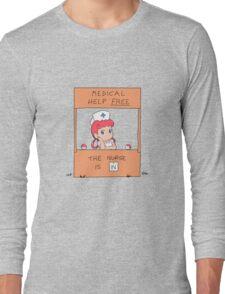 Free Medical Help Long Sleeve T-Shirt