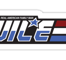 Real American Family Man Sticker