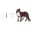 I <3 Foxes by samclaire