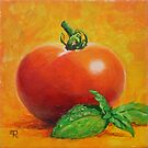 &quot;Tomato With Basil&quot; by Tatiana Roulin