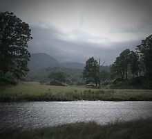 Wetherlam from the Brathay. Pinhole Image by rennaisance