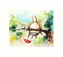 My Neighor Totoro - Studio Ghibli - Water Painting Art Print