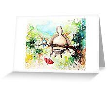 My Neighor Totoro - Studio Ghibli - Water Painting Greeting Card
