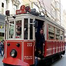 Historic tram at Istanbul by bubblehex08