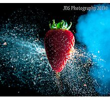 High Speed Fruit Shoot Photographic Print