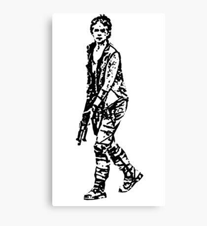 Carol - The Walking Dead Canvas Print
