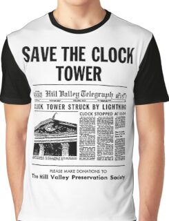Save the Clocktower Graphic T-Shirt