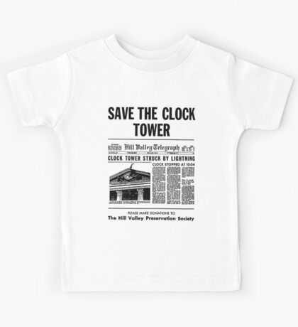 Save the Clocktower Kids Tee