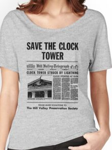 Save the Clocktower Women's Relaxed Fit T-Shirt