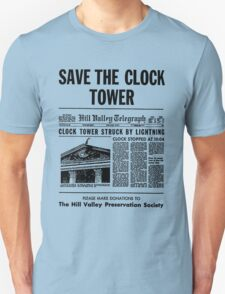 Save the Clocktower Unisex T-Shirt
