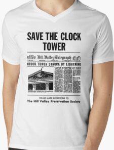 Save the Clocktower Mens V-Neck T-Shirt