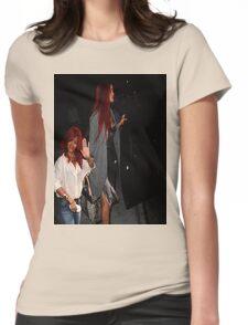 Rihanna Twins 01 Womens Fitted T-Shirt