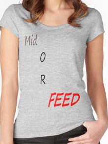 Feeders  Women's Fitted Scoop T-Shirt