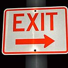 Exit Sign by JMG1883