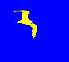 flying in blue by eliso silva