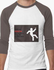 Arrow to the Knee, Still an Adventurer Men's Baseball ¾ T-Shirt