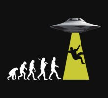 UFOvolution by divebargraphics