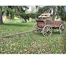 Welcome Wagon Photographic Print