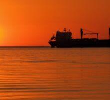 Lake Superior Morning Sticker
