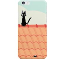 Studio Ghibli - Jiji the Cat iPhone Case/Skin