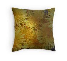 Dandy Dandelions Throw Pillow