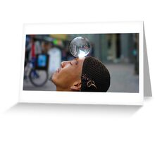 Crystal Ball Greeting Card