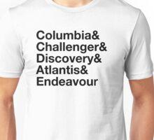 Shuttle Jetset Unisex T-Shirt