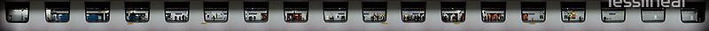 Metro Mega Panorama – Les Halles by lesslinear