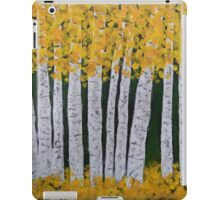 yellow aspens iPad Case/Skin