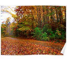 Vibrant October Poster