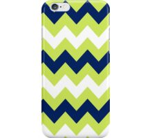 >>chic.chevron<< - lime&navy&white iPhone Case/Skin